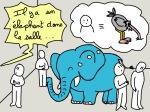 La transformatin digitale est comme un éléphant dans une salle. ^^ certaines entreprises font encore l'autruche